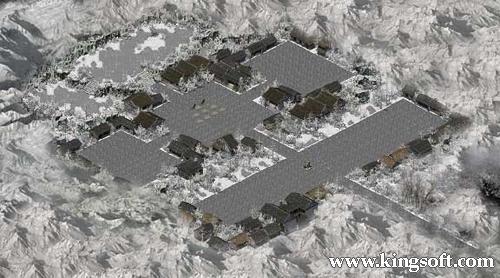 巖石風景區地圖